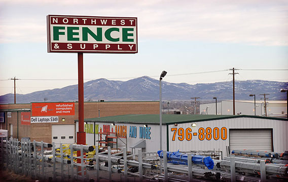 Northwest Fence and Supply - Freeway View